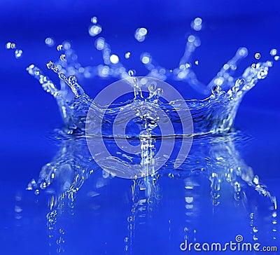 Free Blue Splash Stock Photos - 4160553
