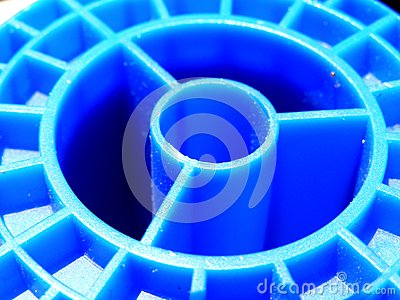 Blue spool