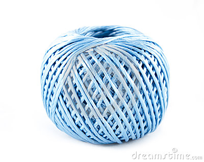 Blue spool