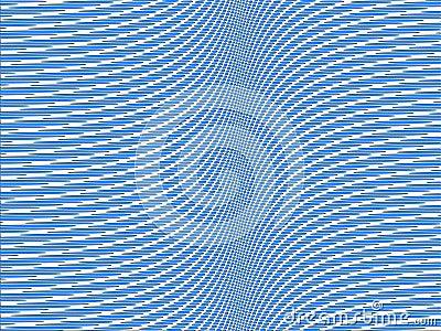 Blue spot pattern