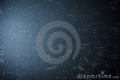 Blue spotlight background wall
