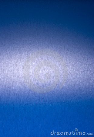 Blue Stainless Steel Abstract Background