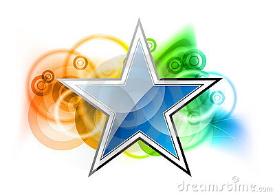 Blue Star Royalty Free Stock Image - Image: 19071116