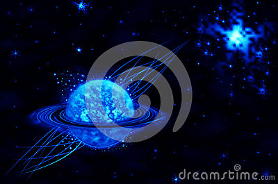 Black And Blue Stars Backgrounds Astronomy  blue star on black
