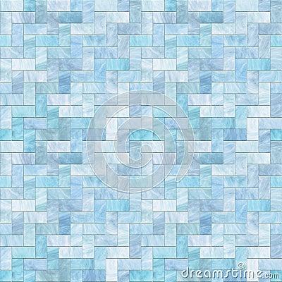 Blue Stone Floor Seamless Pattern
