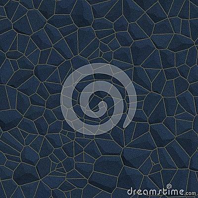 Free Blue Stone Wall BackGround Stock Image - 3160371