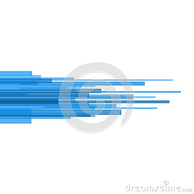 Free Blue Straight Lines Abstract On Light Background. Vector Stock Images - 39773894