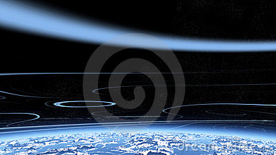 Blue stratosphere