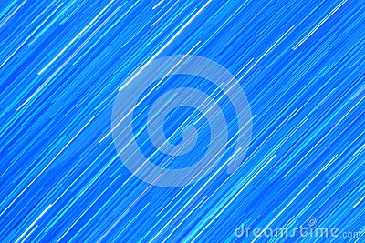 Blue Streaks of Light - Abstract Art of Color and Background