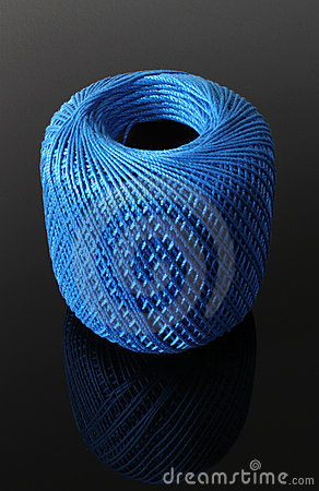 Blue String Spool