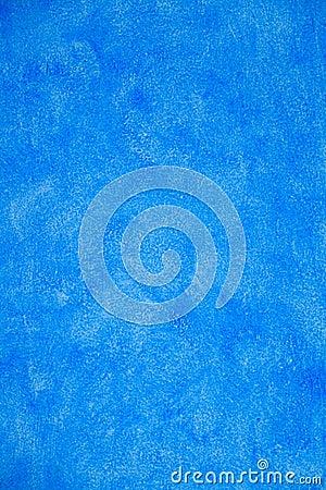 Blue Stucco Wall