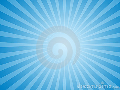 Blue sun background