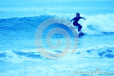 Blue Surfer 1