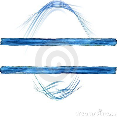 Blue swilrs copyspace background