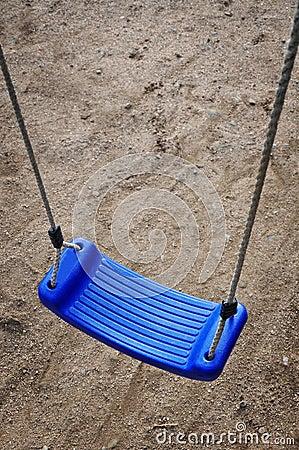 Blue swing play