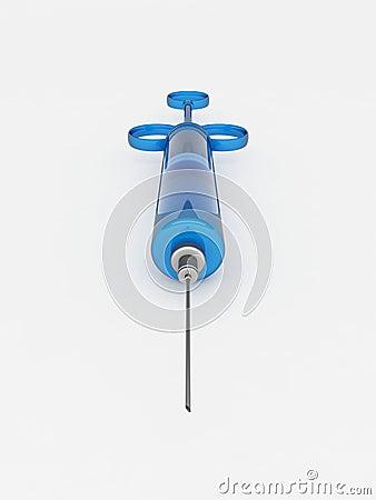 Blue Syringe