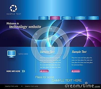 Blue Technology Website