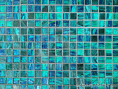 Blue tile background