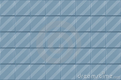 Blue Tiled Background