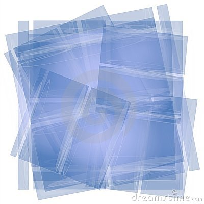 Blue Tissue Paper Texture