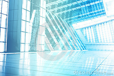 Blue Trendy Creative Abstract Wallpaper Background