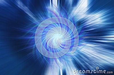 Blue Twirl