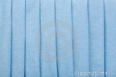 Blue Velvet Parallel Folds Background