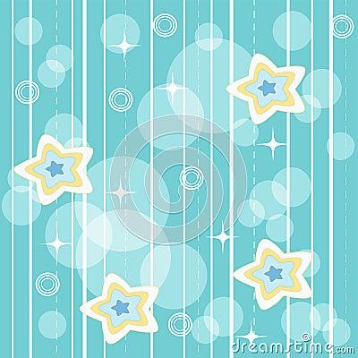 Blue vivid pattern.