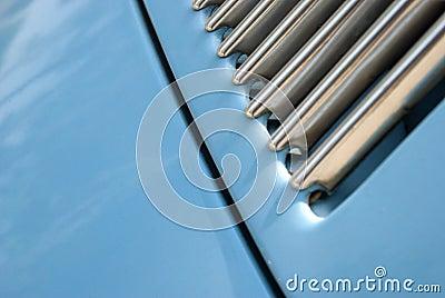 Blue Volkswagen beetle 2