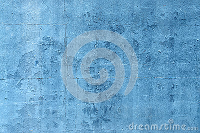 Blue Wall Flaking