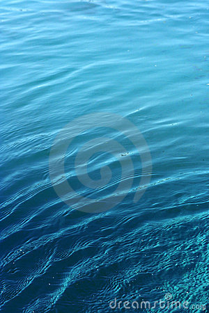 Free Blue Water Background Royalty Free Stock Photography - 5264837