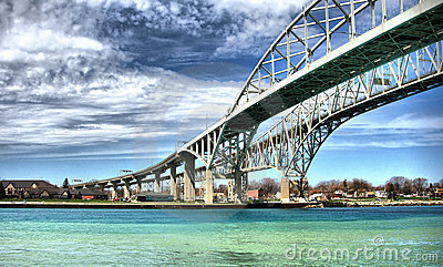 Blue Water Bridge, Sarnia, Canada
