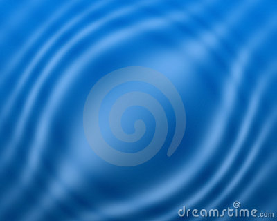 Blue water color wave background and abstract art