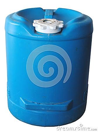 Blue Water Jug
