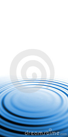 Free Blue Water Ripples Royalty Free Stock Photos - 11081738