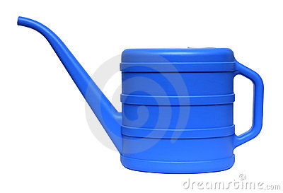 Blue watering-can