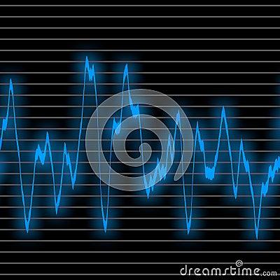 Blue wave sound