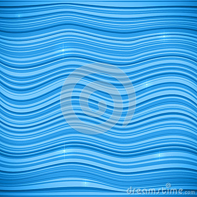Blue waves vector sea background