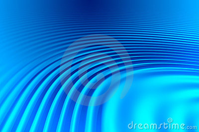 Blue Wavy Abstract Background Stock Images - Image: 19477144