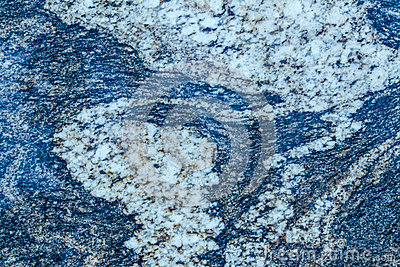 Blue Wavy Granite Pattern