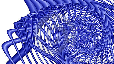 Blue Whirlpool - fractal image