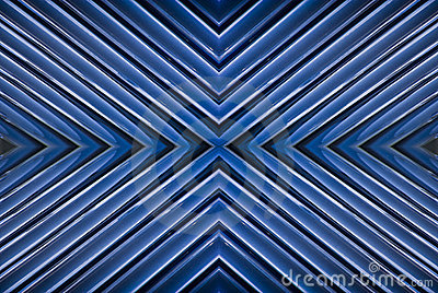 Blue, White & Black Abstract Background