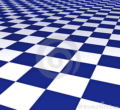 Blue And White Floor Tiles Royalty Free Stock Image Image 2890236