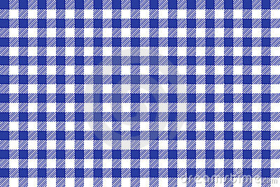 Blue and white tablecloth square texture wallpaper