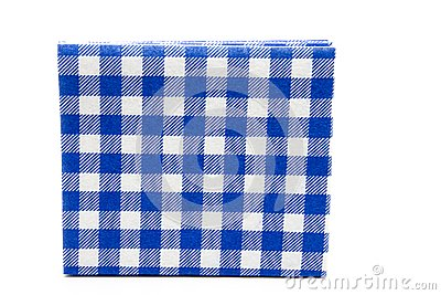 Blue whiteness table cloth
