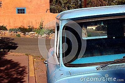 Blue Window, Blue Truck
