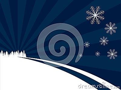 Blue Winter Wonderland