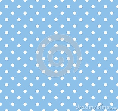 Free Blue With White Polka Dots Royalty Free Stock Photo - 4317945