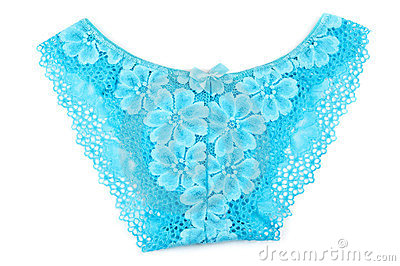 Blue women s panties