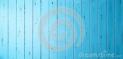 Blue Wood Banner Background